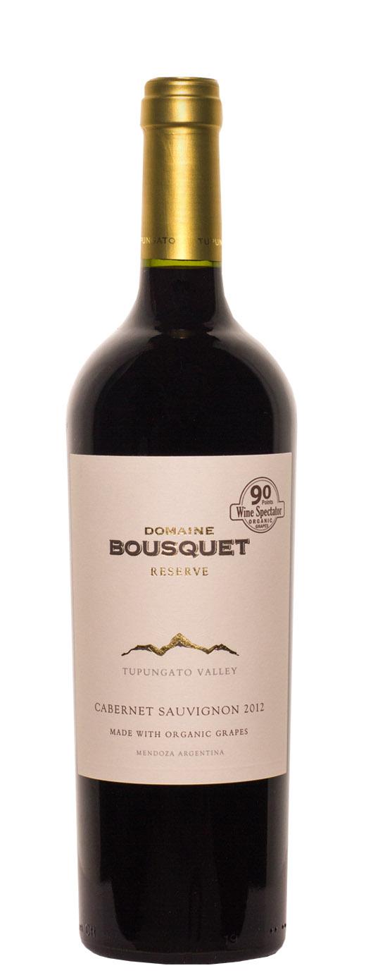 2012 Domaine Bousquet Cabernet Sauvignon