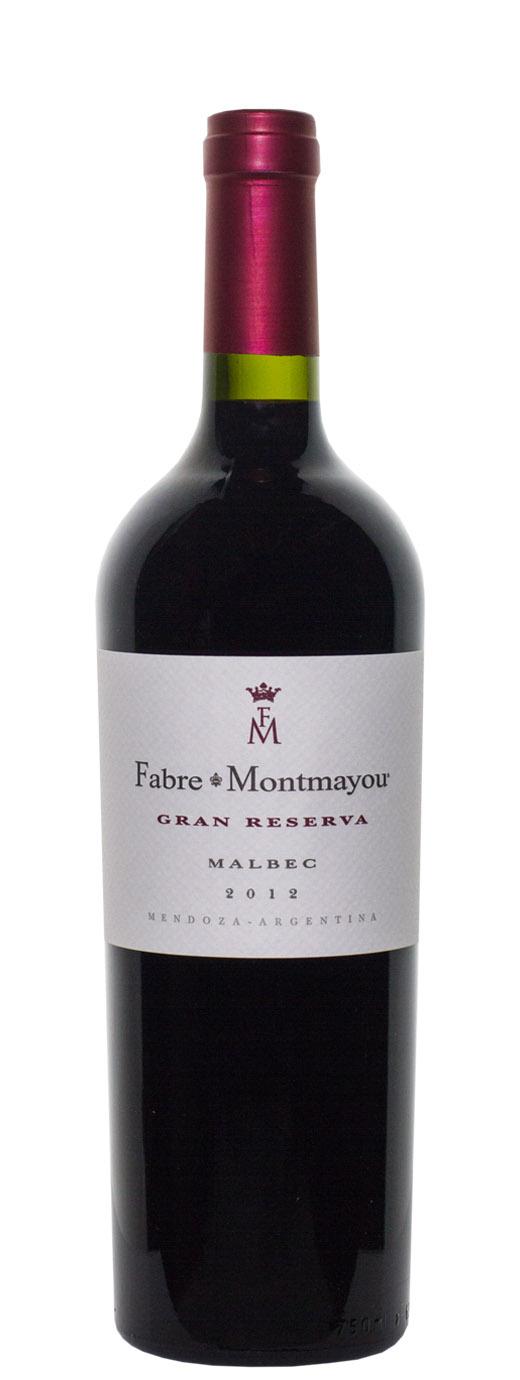 2012 Fabre Montmayou Malbec Gran Reserva