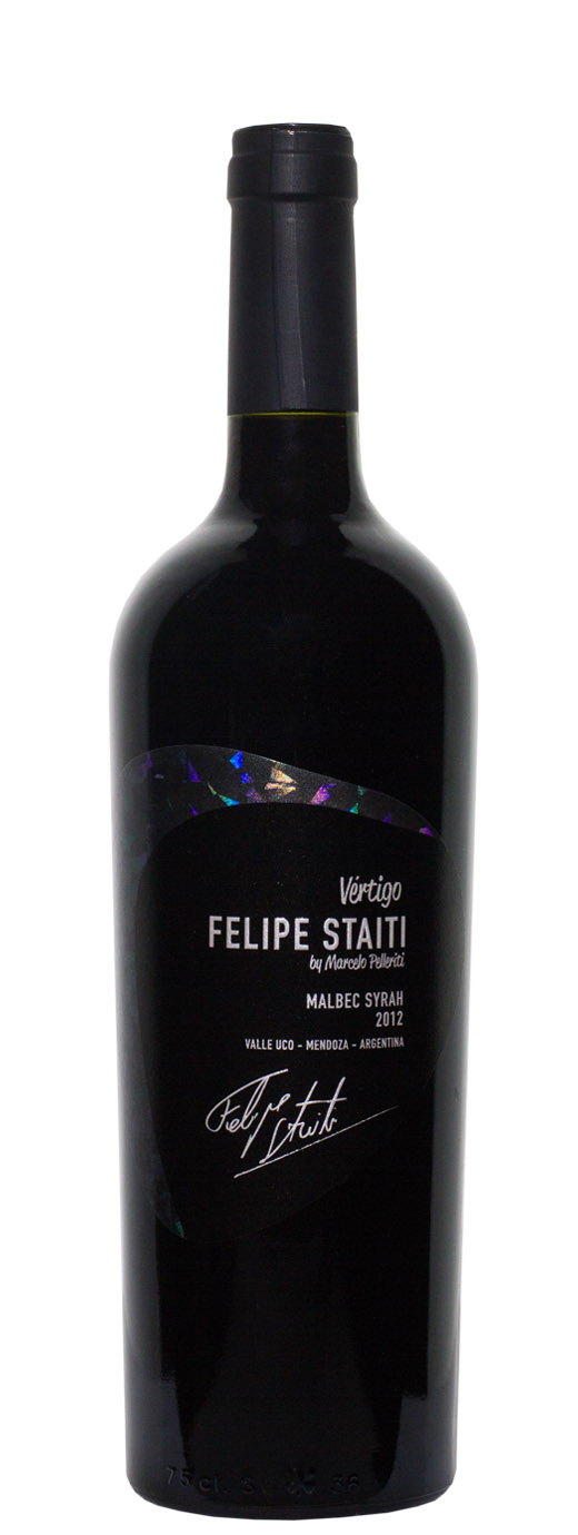 2012 Felipe Staiti Vertigo Malbec Syrah