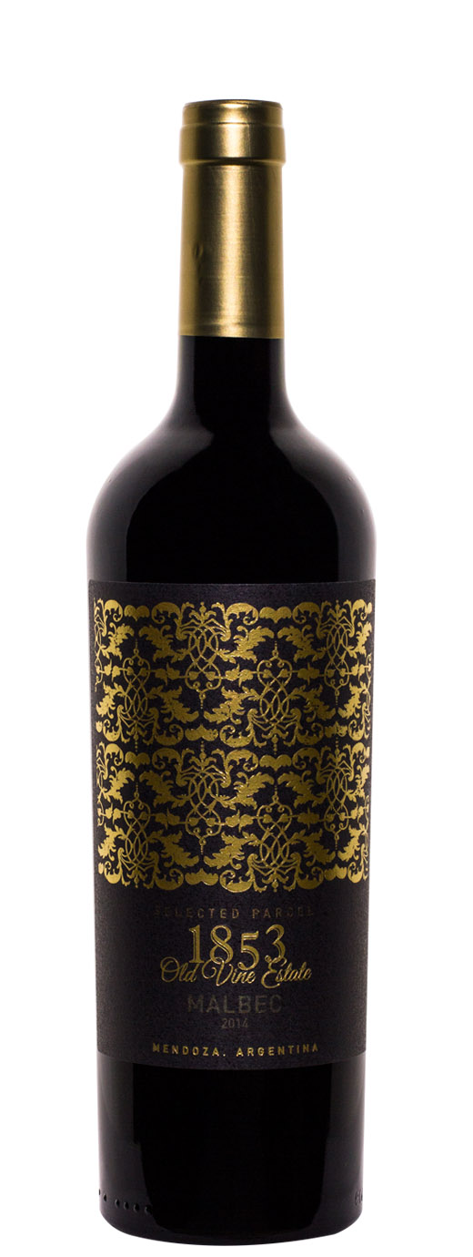 2014 1853 Old Vine Estate Selected Parcel Malbec by Marcelo Pelleriti