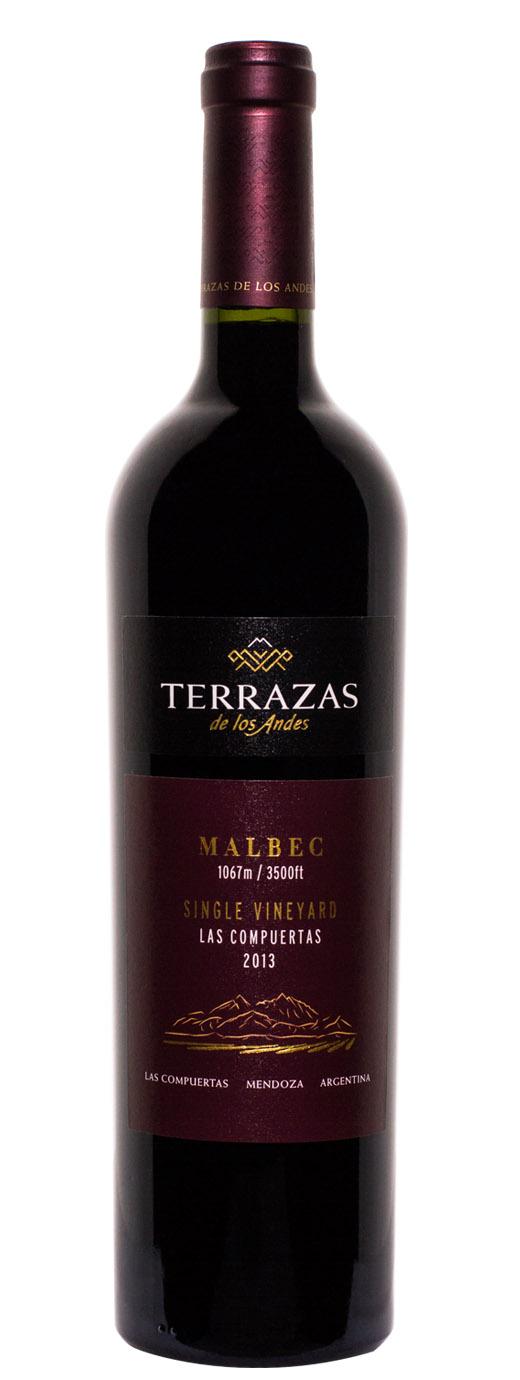 2013 Terrazas De Los Andes Malbec Las Compuertas B 21 Fine