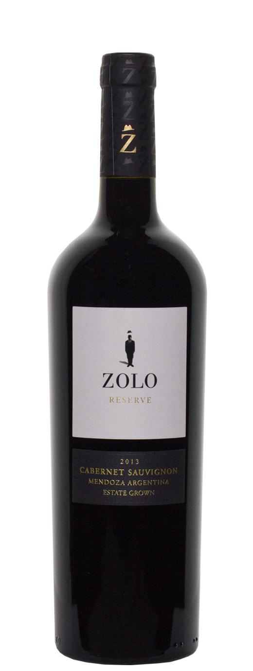 2013 Zolo Reserve Cabernet Sauvignon