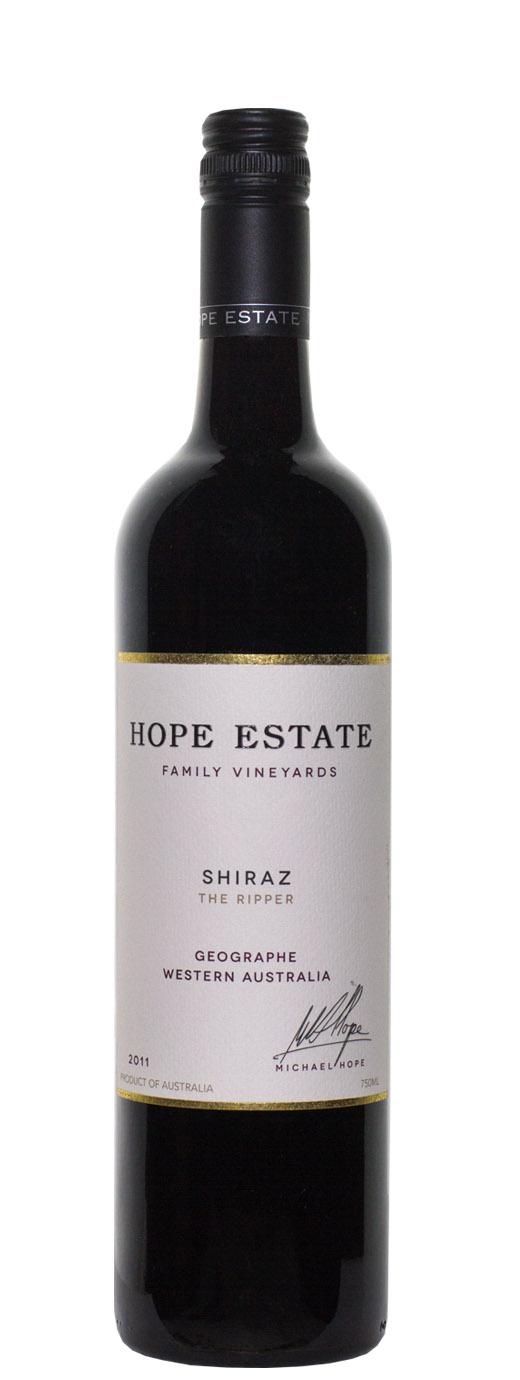 2011 Hope Estate The Ripper Shiraz