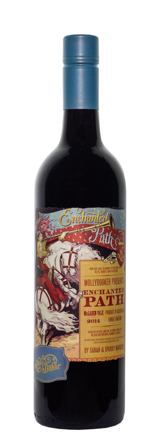 2014 Mollydooker Enchanted Path Red