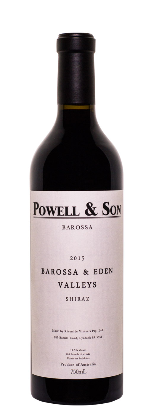 2015 Powell & Son Barossa & Eden Valleys Shiraz