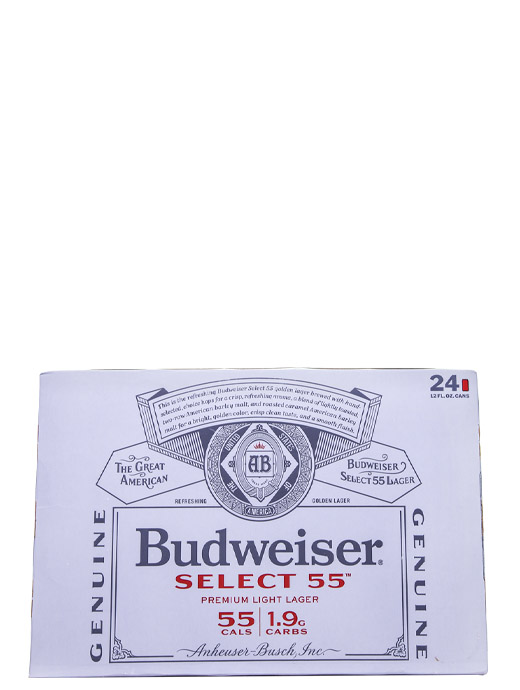 Bud Select 55 24pk Cans