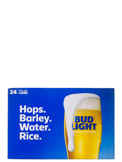 Bud Light 24pk Cans 12oz