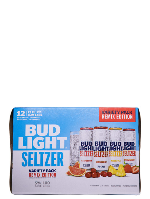 Bud Light Seltzer Variety Pack Remix Edition 12pk Cans