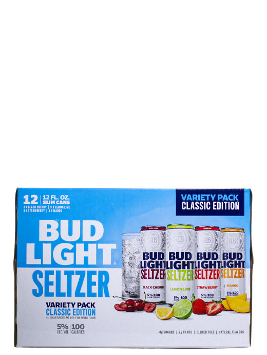 Bud Light Seltzer Variety Pack 12pk Cans
