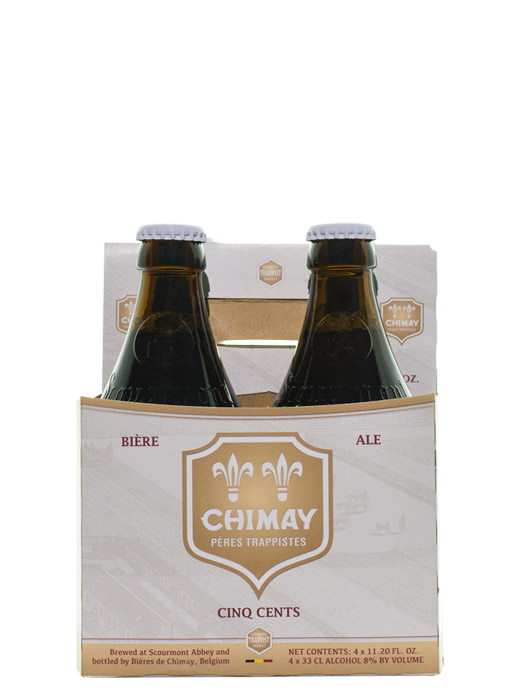 The Chimay White Tripel Cinq Cents 4pk