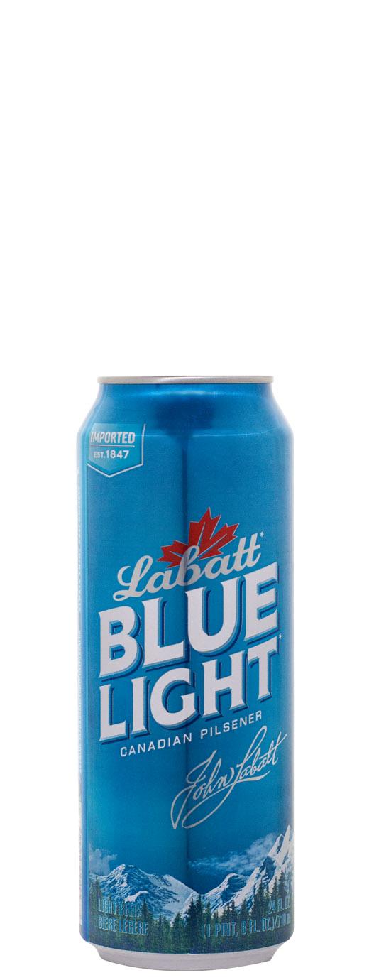 Labatt Blue Light 24oz Can  d814fb6cf96e