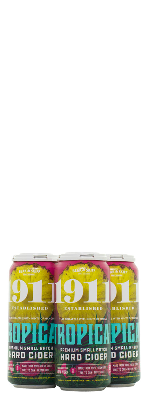 1911 Tropical Hard Cider 4pk Cans