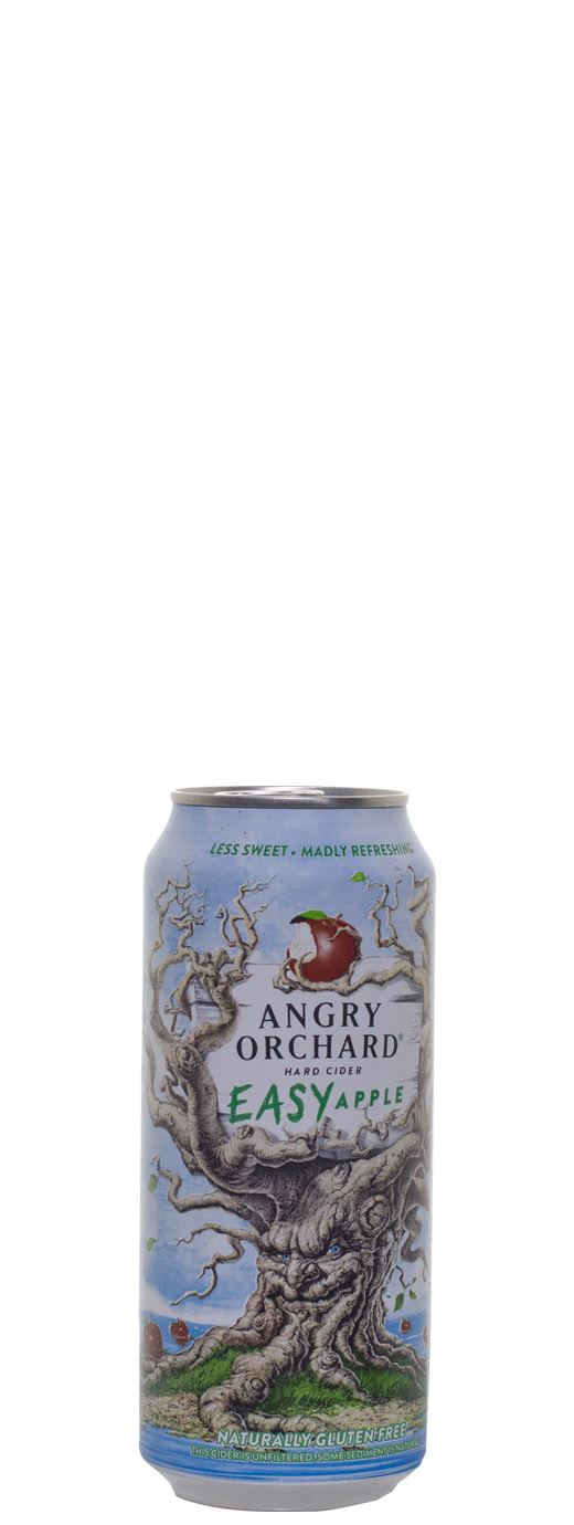 Angry Orchard Easy Apple Hard Cider 16oz Can