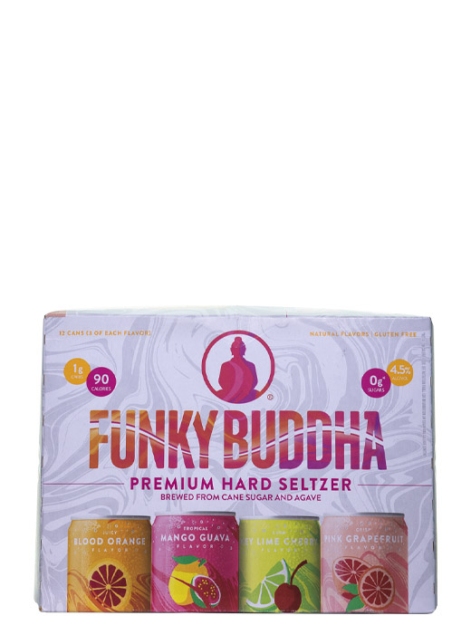 Funky Buddha Premium Hard Seltzer Variety 12pk Cans