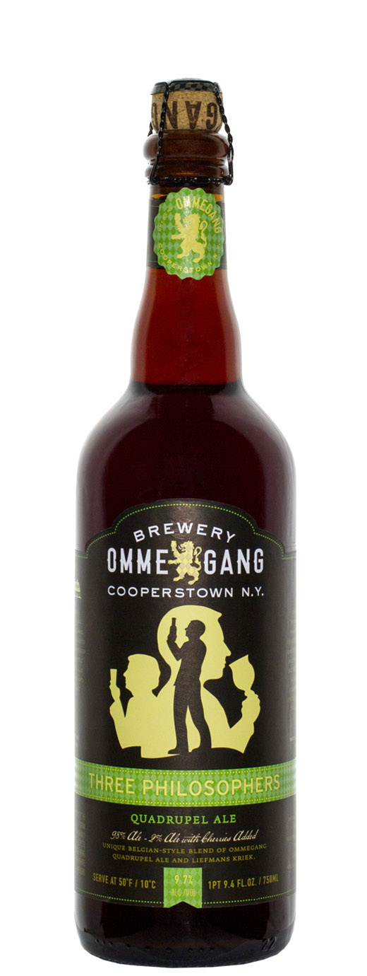 Ommegang Three Philosophers Quadrupel