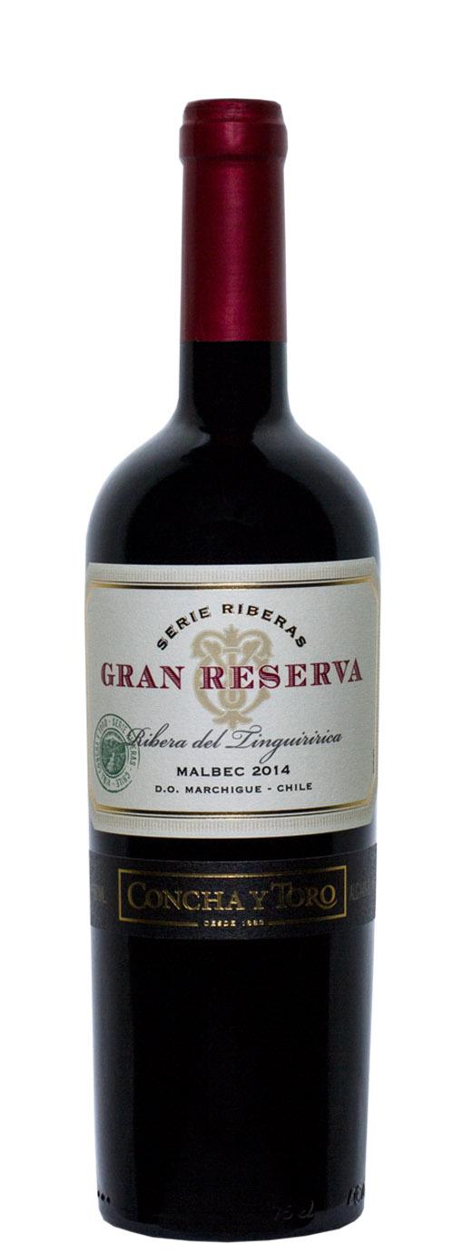 2014 Concha y Toro Malbec Gran Reserva Serie Riberas