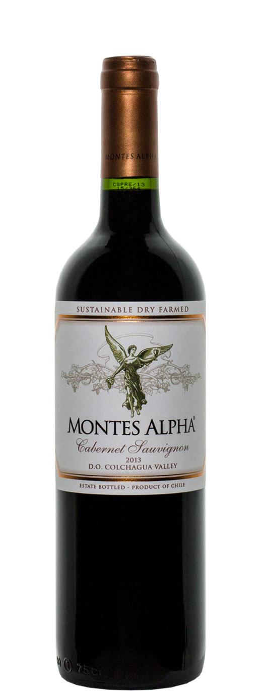 2013 Montes Alpha Cabernet Sauvignon