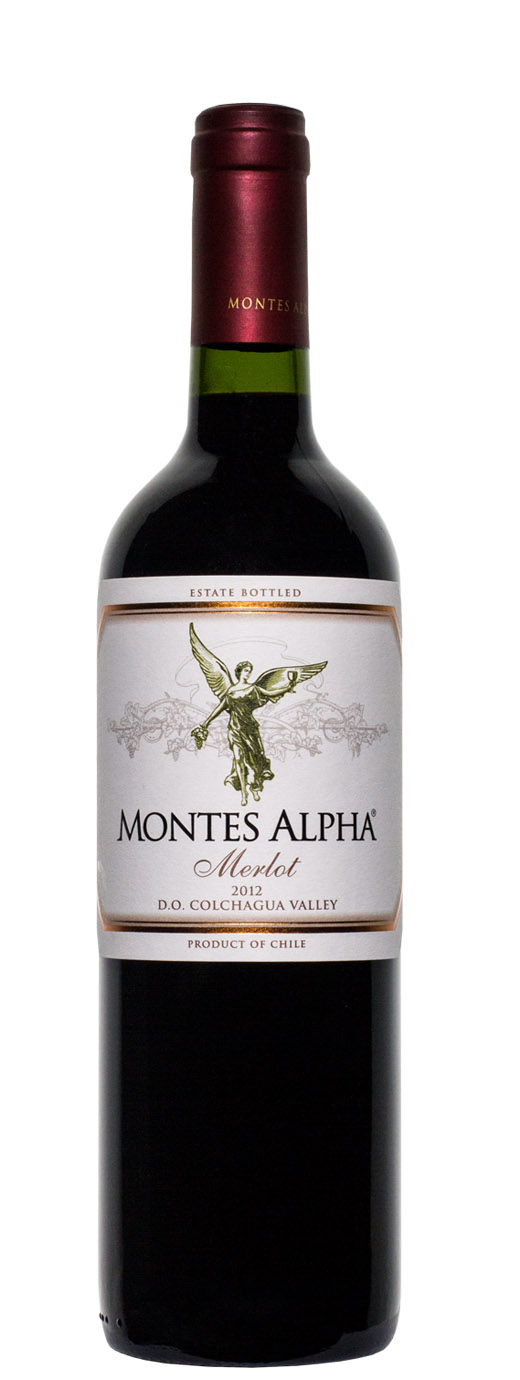 2012 Montes Alpha Merlot