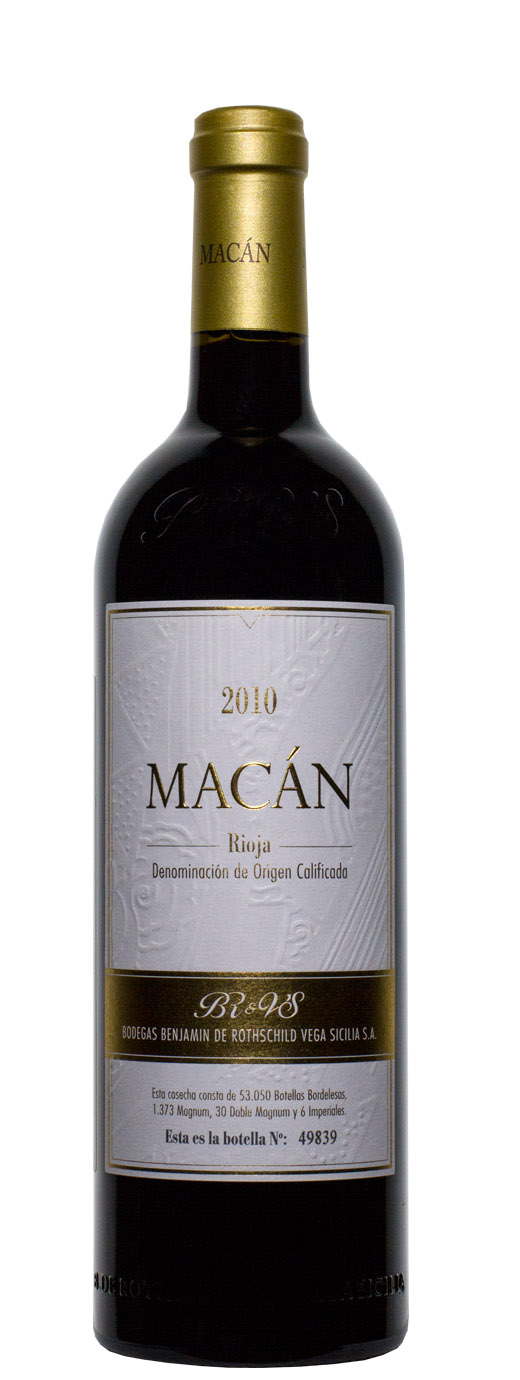 2010 Bodegas Benjamin de Rothschild & Vega Sicilia Macan