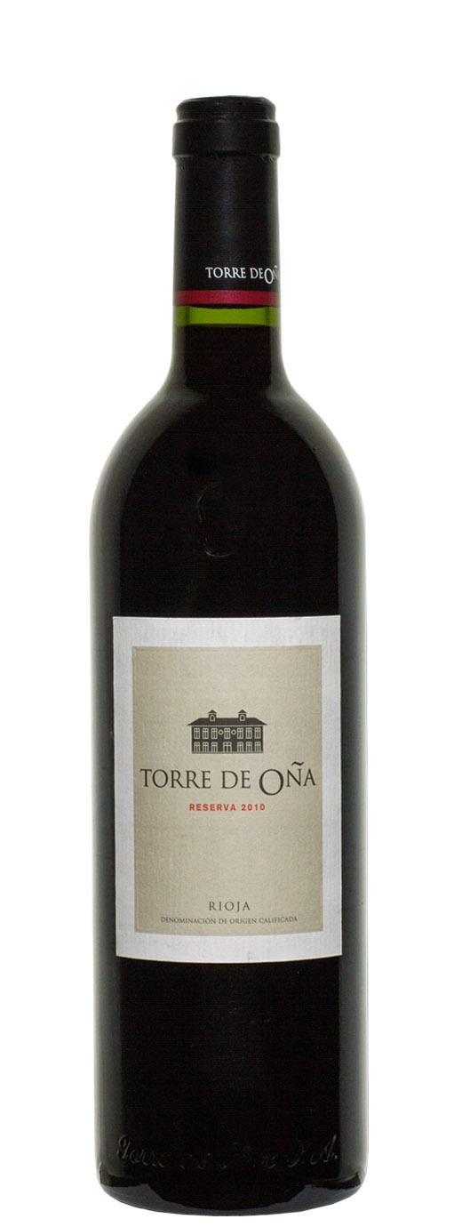 2010 Torre de Ona Reserva