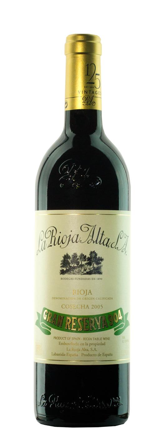 2005 La Rioja Alta Gran Reserva 904
