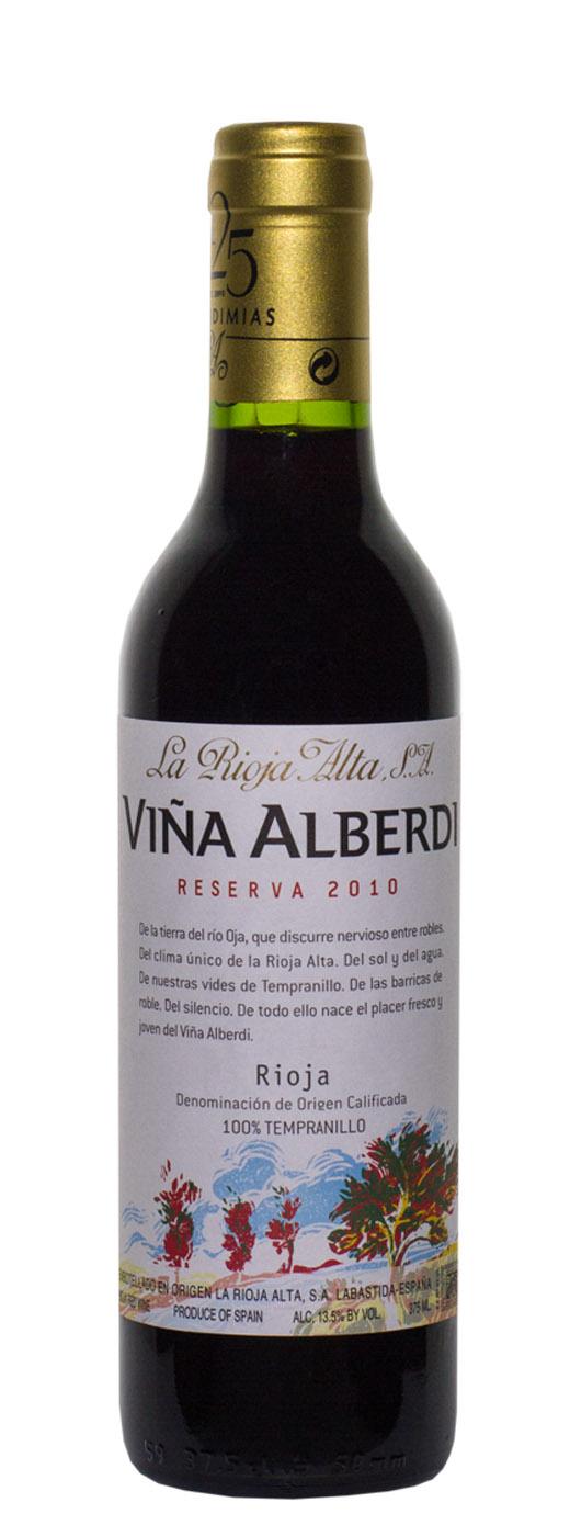 2010 La Rioja Alta Reserva Vina Alberdi