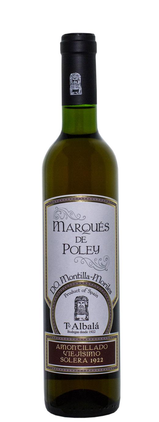 1922 Toro Albala Marques de Poley Amontillado Viejisimo Solera