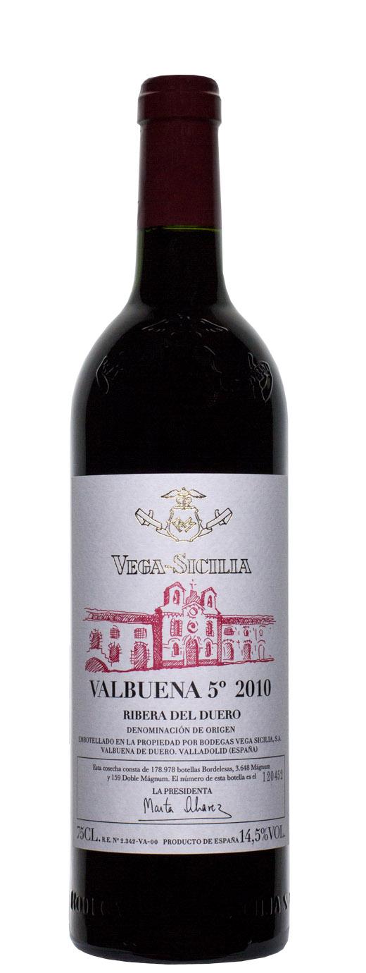 2010 Vega Sicilia Valbuena