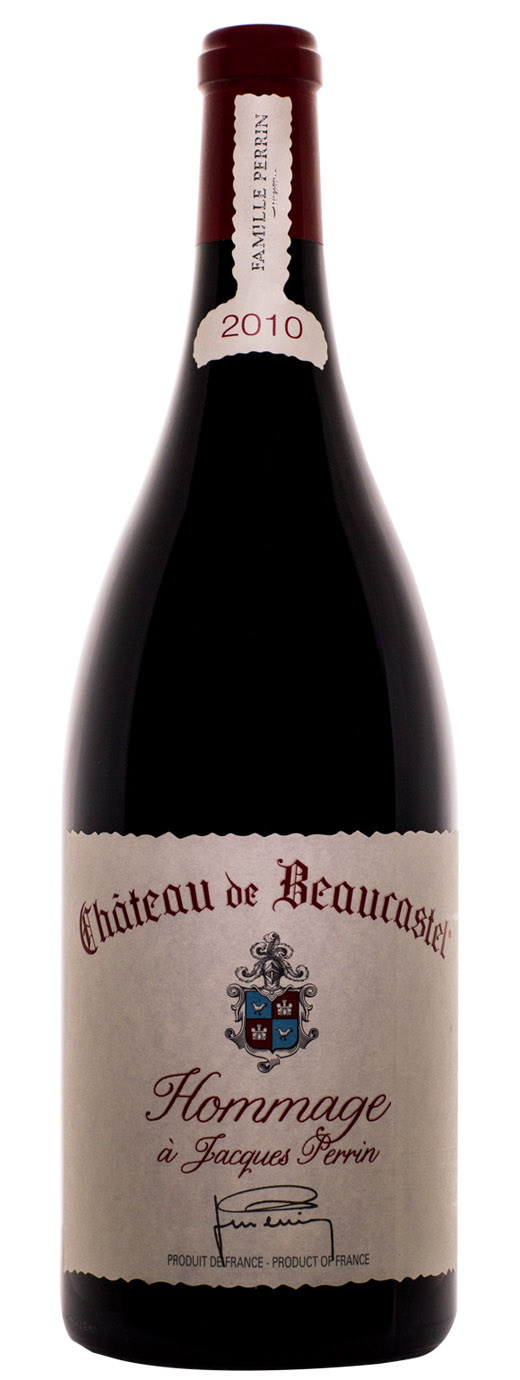 2010 Chateau Beaucastel Hommage a Jacques Perrin
