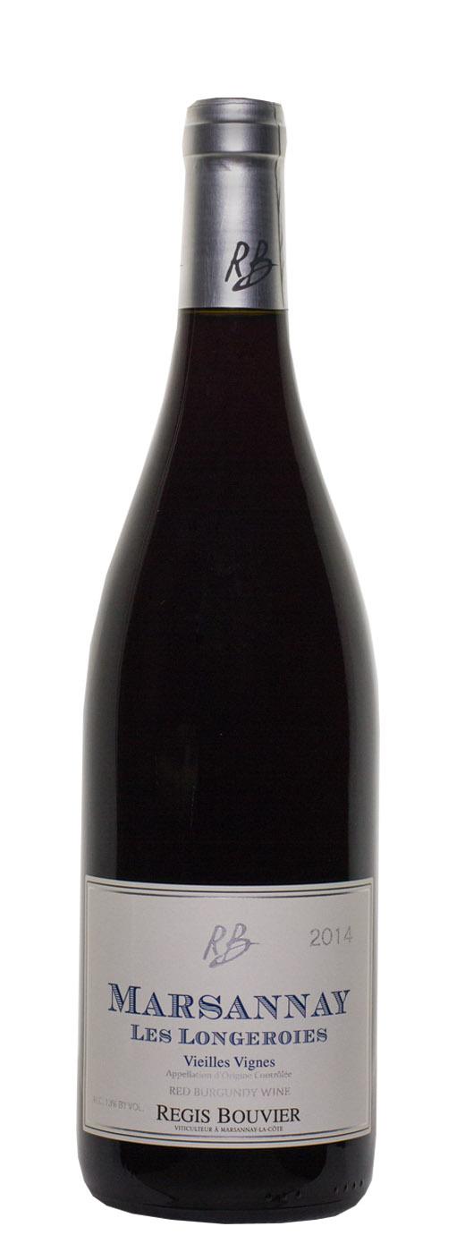 2014 Regis Bouvier Marsannay Les Longeroies Vieilles Vignes Rouge