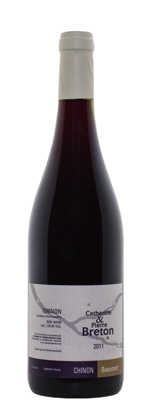 2011 Catherine & Pierre Breton Chinon Beaumont