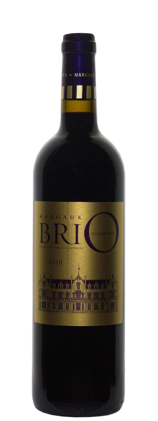 2010 BriO de Cantenac Brown