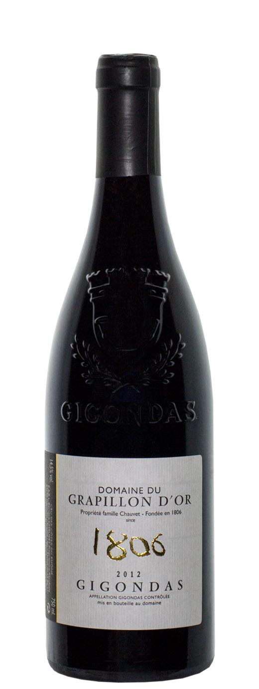 2012 Domaine du Grapillon d'Or Gigondas 1806