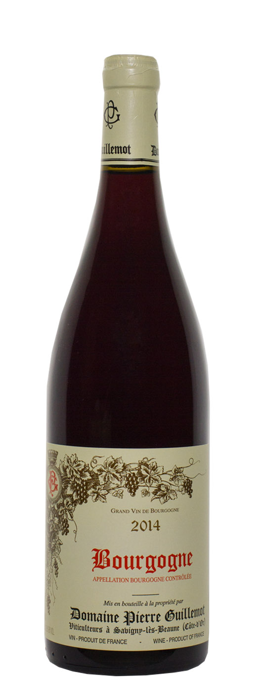 2014 Domaine Pierre Guillemot Bourgogne Rouge
