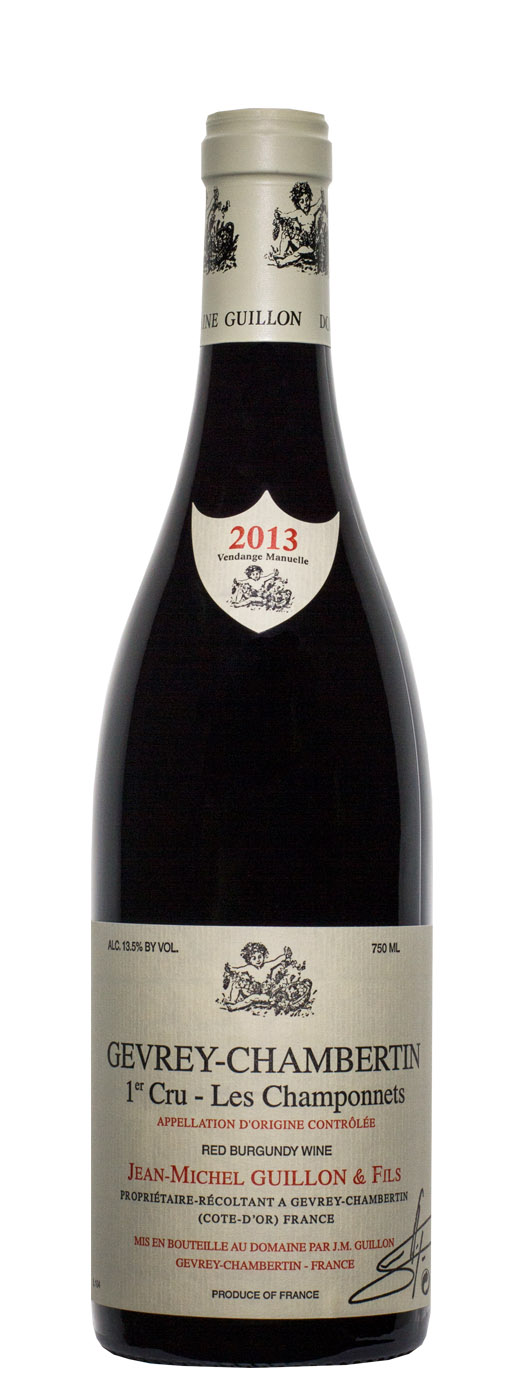 2013 Domaine Guillon 1er Les Champonnets
