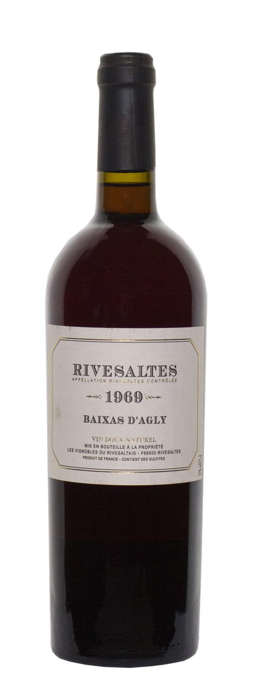 1969 Rivesaltes Cuvée Baixas d'Agly