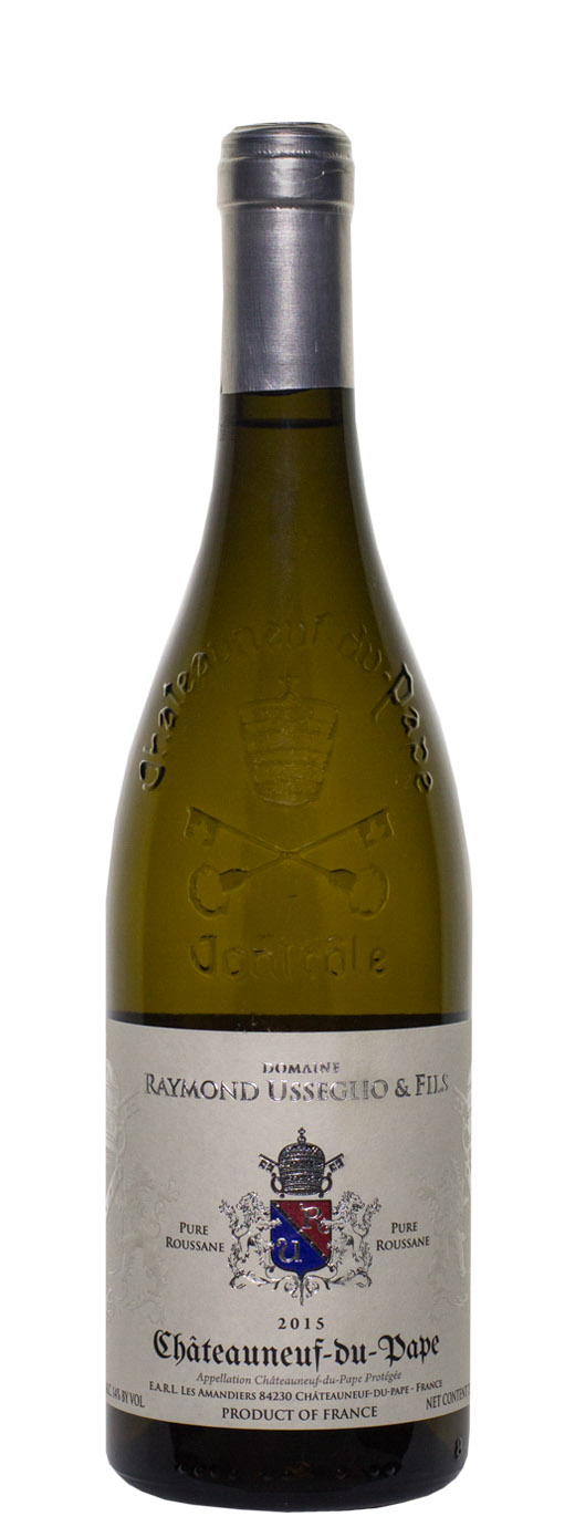 2015 Domaine Raymond Usseglio Chateauneuf du Pape Pure Roussanne