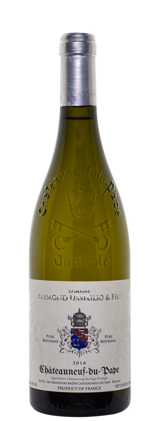 2016 Domaine Raymond Usseglio Chateauneuf du Pape Pure Roussanne