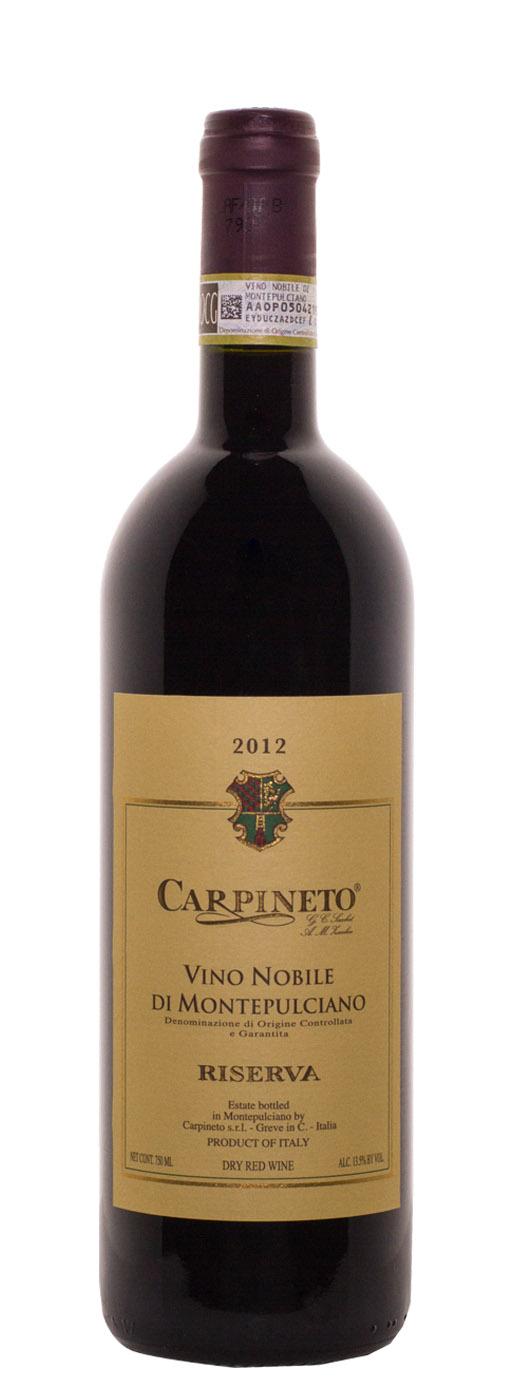 2012 Carpineto Vino Nobile di Montepulciano Riserva