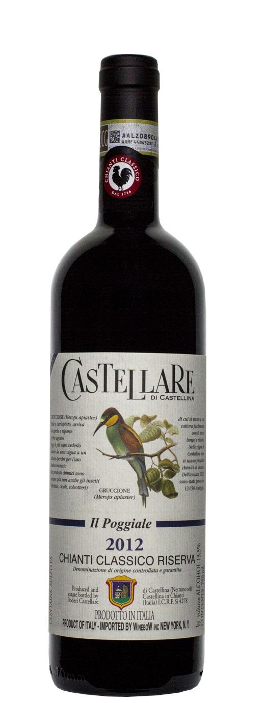 2012 Castellare di Castellina Il Poggiale Chianti Classico Riserva