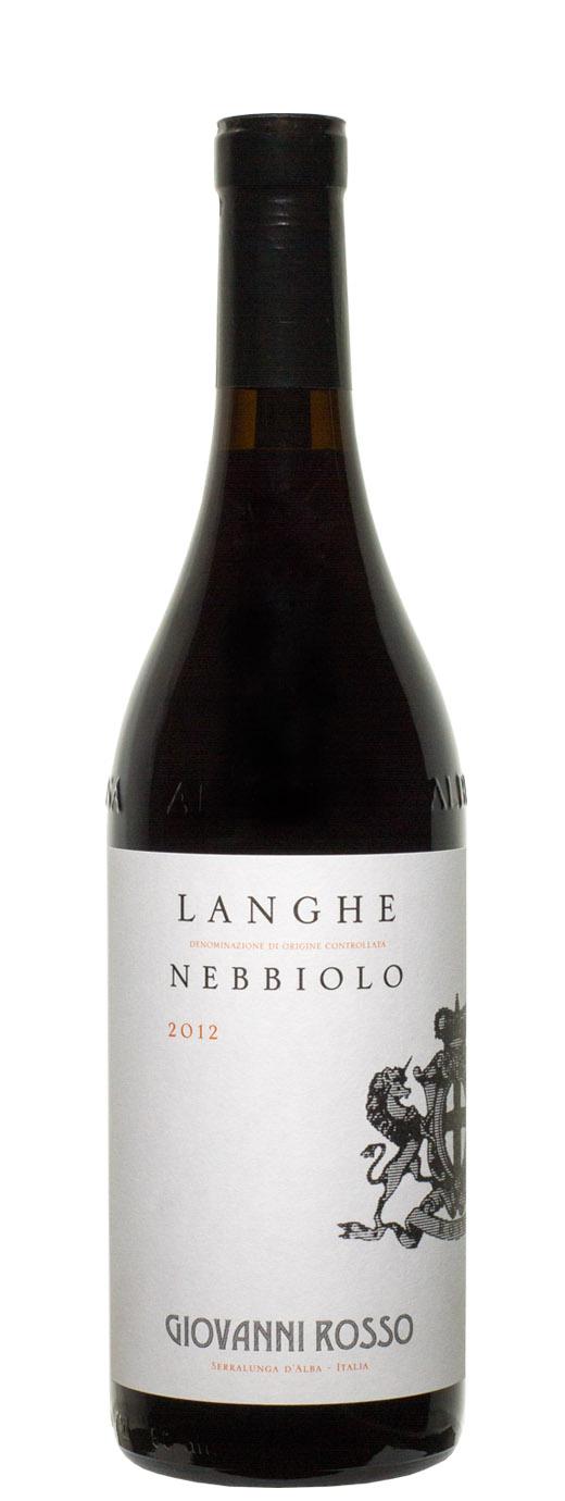 2012 Giovanni Rosso Nebbiolo
