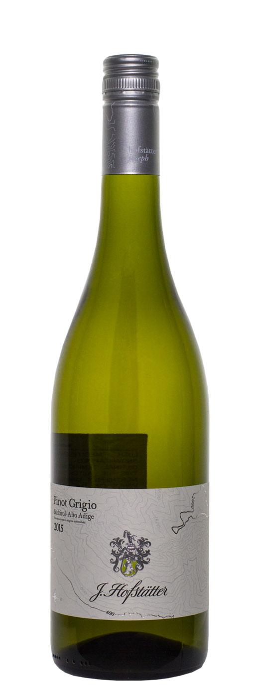 2015 Hofstatter Pinot Grigio