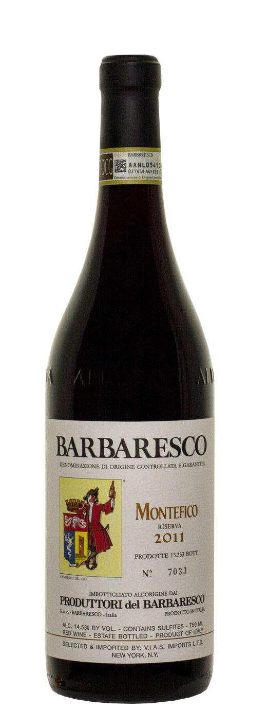 2011 Produttori del Barbaresco Montefico Riserva