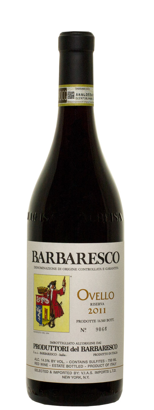 2011 Produttori del Barbaresco Ovello Riserva