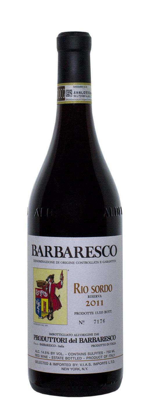 2011 Produttori del Barbaresco Rio Sordo Riserva