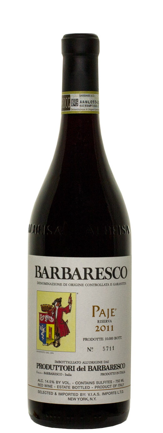 2011 Produttori del Barbaresco Paje Riserva