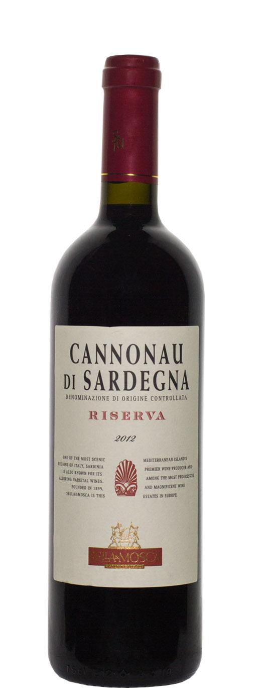 2012 Sella & Mosca Cannonau di Sardegna Riserva