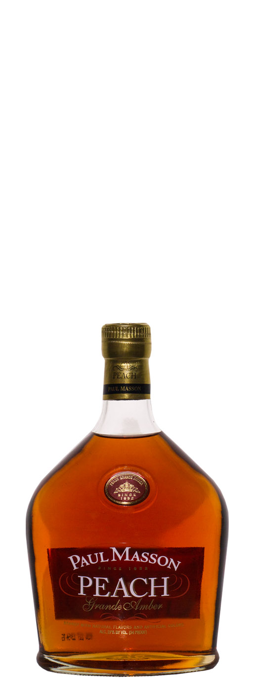 Paul Masson Peach Grande Amber Brandy