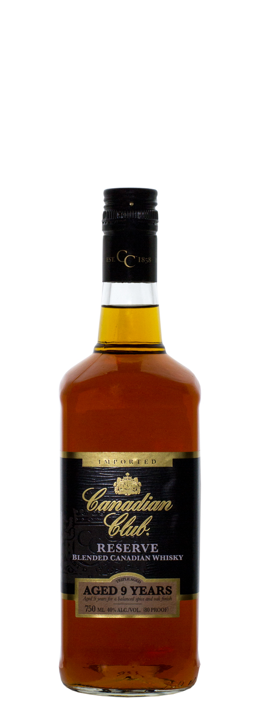 Canadian Club Reserve 9yr Canadian Whisky