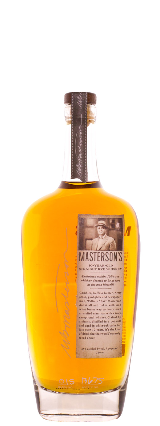 Mastersons 10yr Straight Rye Canadian Whiskey